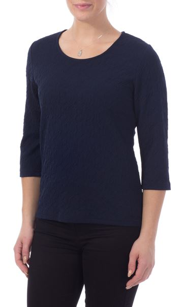 Textured Stretch Top