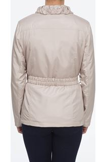 Stone Embroidered Panel Coat