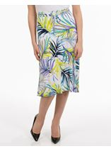 Anna Rose Tropic Print Skirt
