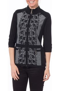 Anna Rose Sparkle Knit Gilet