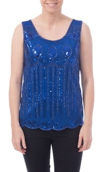 Embellished Evening Top