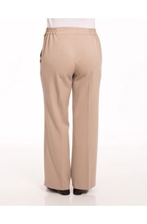 Anna Rose 29 Inch Trousers - Beige