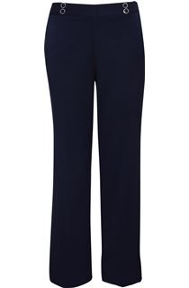 Anna Rose 27 Inch Trousers - Navy