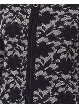 Anna Rose Knitted Zip Cardigan