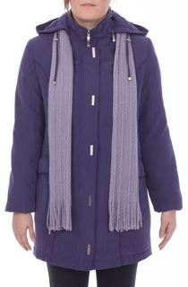 Anna Rose Casual Coat - Amethyst