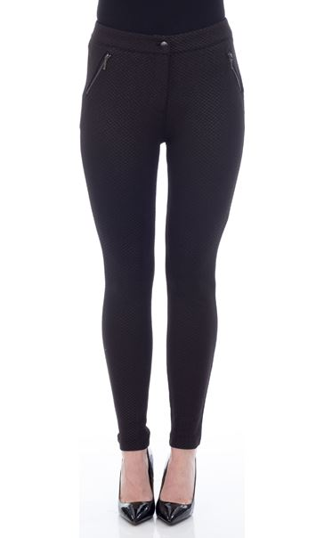 Slim Leg Diamond Trousers