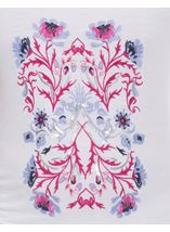 Anna Rose Floral Embroidered Top
