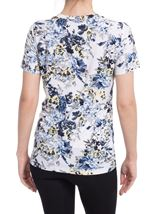 Anna Rose Bouquet Print Top