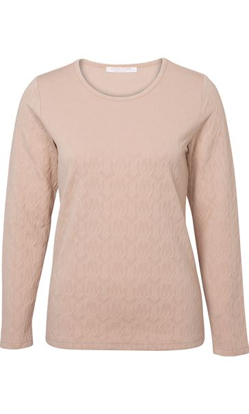 Anna Rose Textured Top