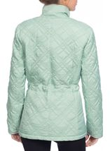 Diamond Quilt Coat