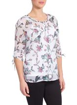 Anna Rose Floral Blouse