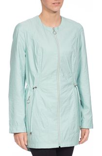Collarless Parka - Mint