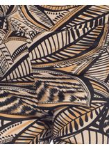 Tribal Print Scuba Trousers