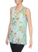 Botanical Layered Top