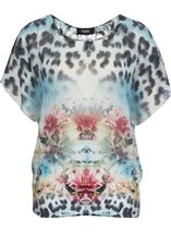 Botanical Mirror Print Top