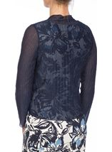 Anna Rose Pleated Shimmer Cover Up