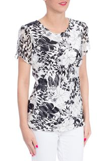 Anna Rose Monochrome Floral Top