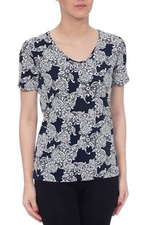 Anna Rose Lace Print Top