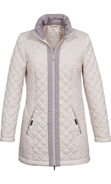 Anna Rose Contrast Quilt Jacket