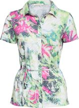 Anna Rose Short Sleeve Floral Print Blouse