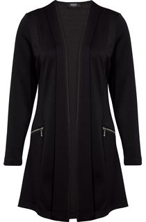 Long Unlined Open Jacket