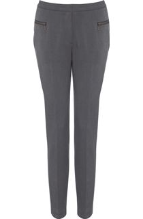 Slim Leg 29 Inch Trousers - Grey