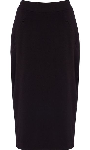 29 Inch Lined Pencil Skirt -