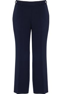 Anna Rose 27 Inch Straight Leg Trousers - Blue
