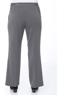 Anna Rose 29 Inch Straight Leg Trousers - Charcoal