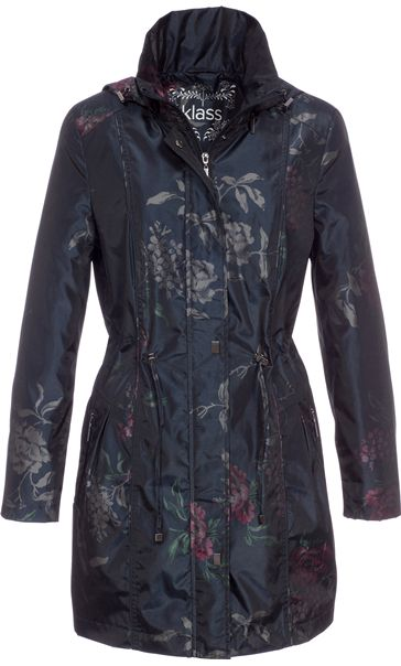 Floral Metallic Coat