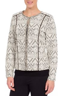Sparkle Woven Unlined Jacket
