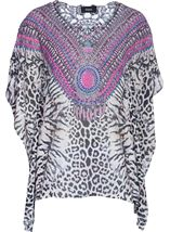Tribal Print Cover Up