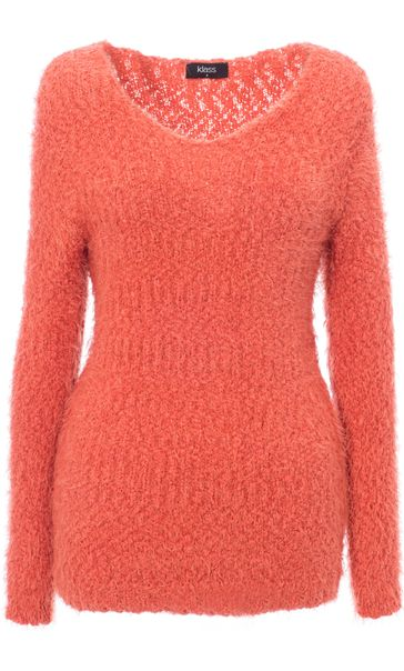 Eyelash Knit Long Sleeve Top
