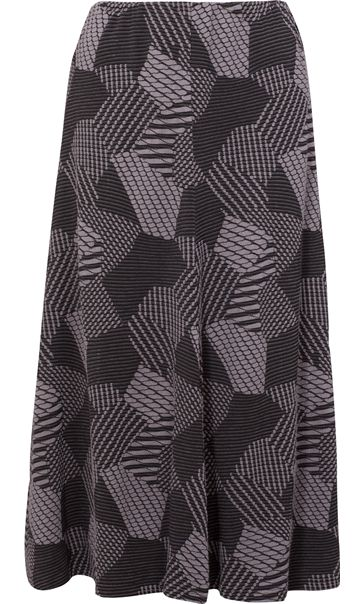 Anna Rose Panelled Elasticated Waist Skirt