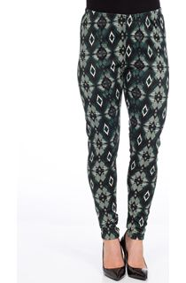 Diamond Print Full Length Leggings