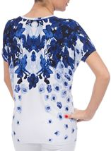 Anna Rose Printed Floral Jersey Top