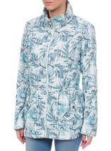 Light Padded Printed Coat
