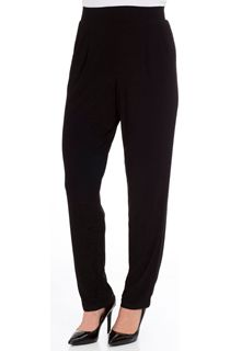 Tapered Leg Pull On Stretch Embellished Trousers