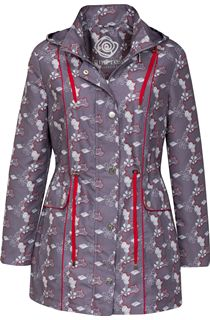 Anna Rose Printed Lightweight Parka