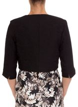 Anna Rose Jacquard Crop Jacket
