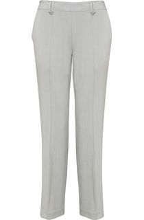 Anna Rose 29 Inch Straight Leg Trouser - Grey