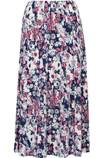 Anna Rose Jersey Panelled Elasticated Waist Skirt