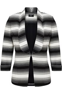 Monochrome Striped Jacket