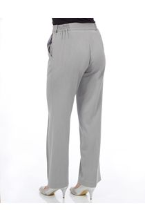 Anna Rose 27 Inch Straight Leg Trouser - Grey