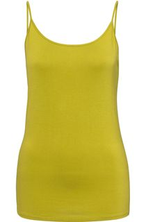 Strappy Jersey Camisole Top - Lime