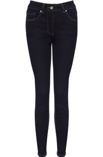 Relaxed Skinny Jeans - Black