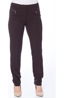 Narrow Leg 29 Inch Trousers - Chocolate