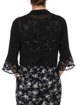Anna Rose Pleated Open Cover Up