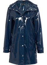 Shine And Shimmer Hooded Coat