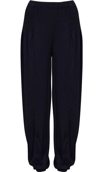 Elasticated Waist And Cuff Trousers